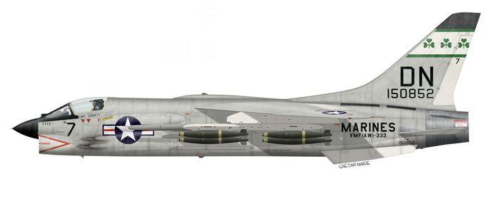 Shamrock F-8 History